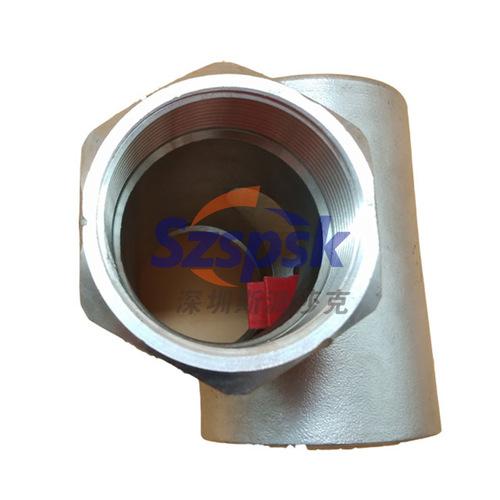 水流指示器_蒸汽观察视镜 不锈钢叶轮视镜 丝扣水流 直通dn20