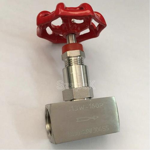 高压截止阀_内螺纹304材料针型高压截止阀 J13W-160P DN8 10 15 20