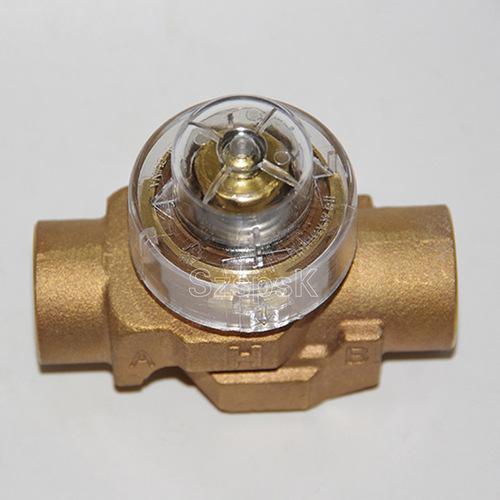 电动二通阀_空调全铜电动二通阀dn15 20 25 霍尼韦尔 西门子 江森3分4分