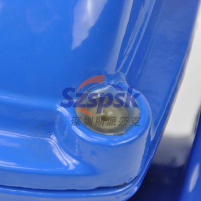 球墨铸铁法兰明杆软密封闸阀Z41X-16QDN80 100 125 150 200 300
