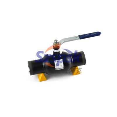 铸钢不锈钢天然气全焊接直埋式球阀Q61F DN50 DN80 DN100
