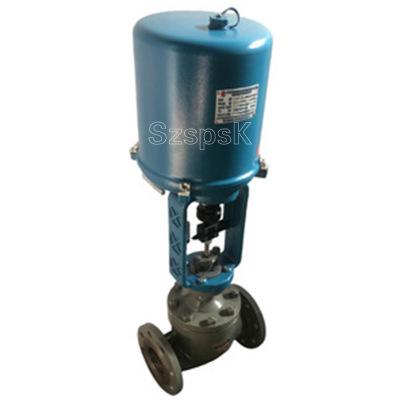 蒸汽小型电动气动不锈钢铸钢法兰二通单座流量调节阀ZDSJPDDN25